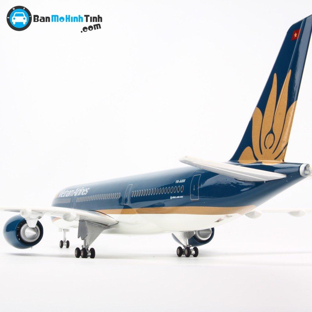 Mô hình máy bay A350 Vietnam Airlines 47cm - có đèn Led