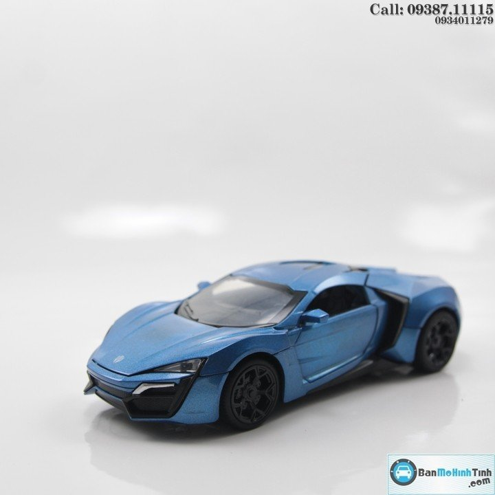 LYKAN HYPERSPORT BLUE FAST AND FURIOUS 1:32 MINIAUTO