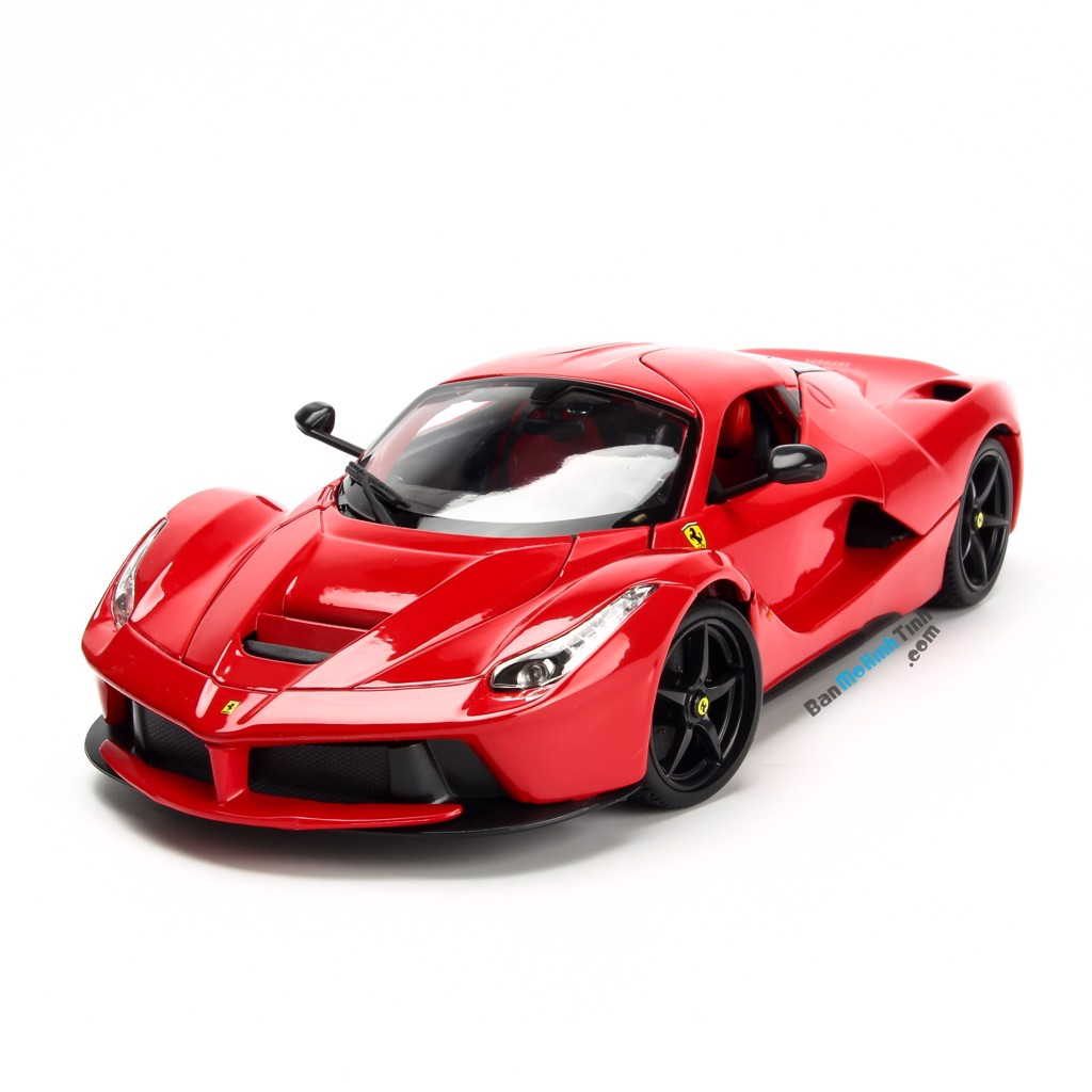 Mô hình xe Ferrari LaFerrari 1:18 Bburago Red