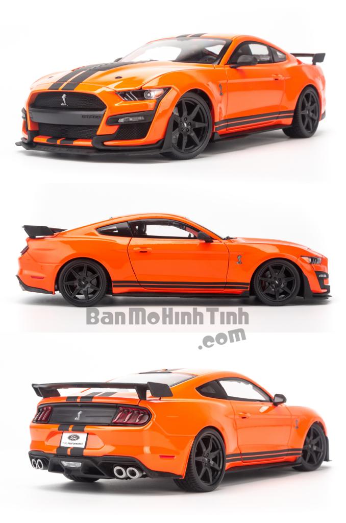 Mô hình xe Ford Mustang Shelby Cobra GT500 1:18 Maisto Orange
