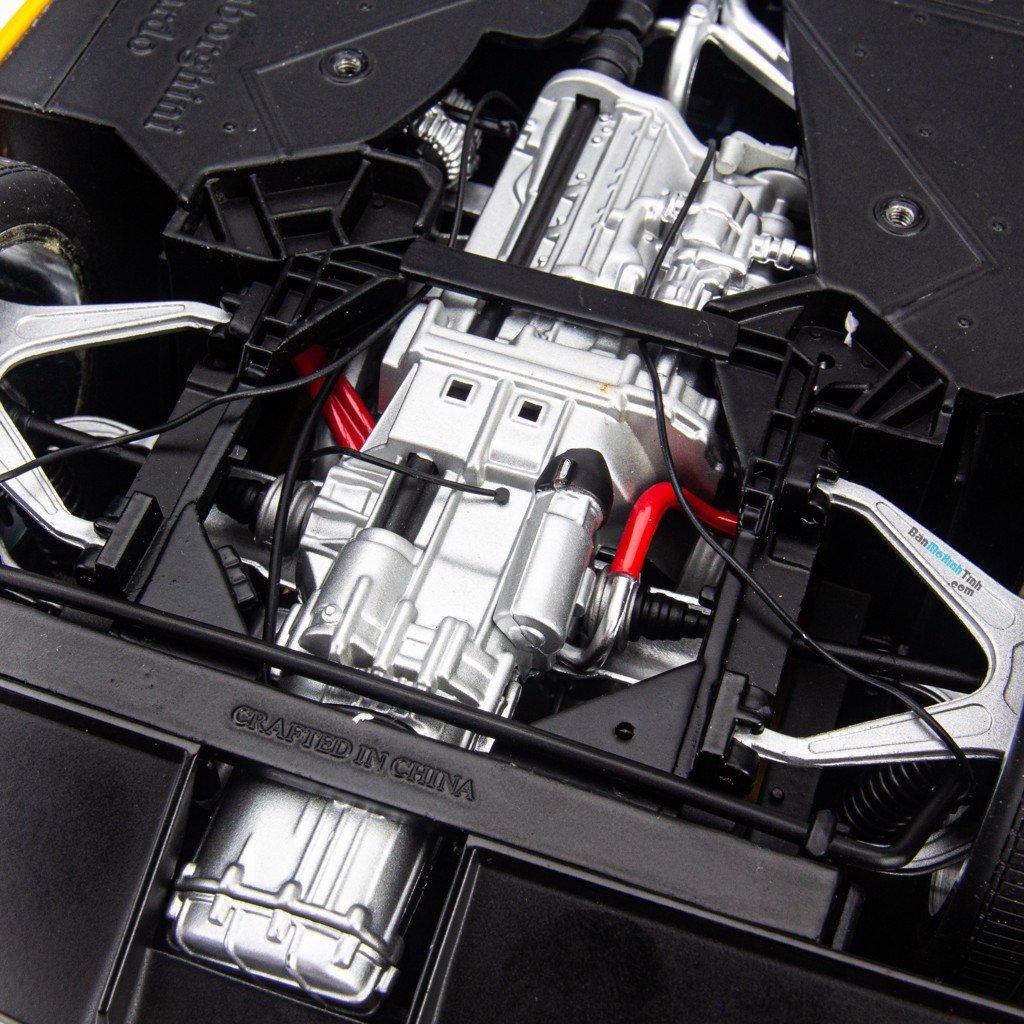 Mô hình siêu xe Lamborghini Gallardo Yellow 1:12 Autoart