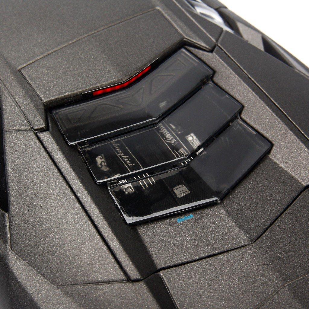 Mô hình xe Lamborghini Reventon Met Grey 1:18 Bburago