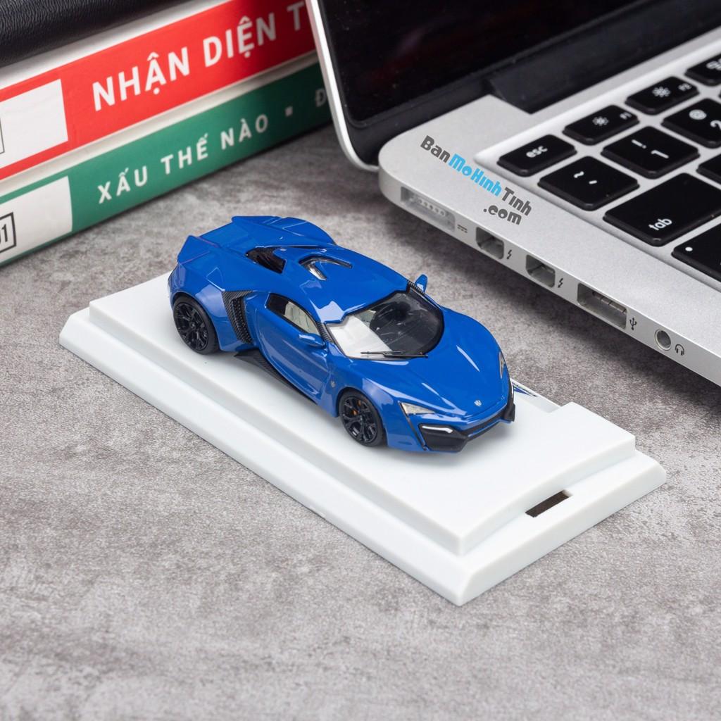 Mô hình xe Lykan Hypersport 1:64 Smallcarart Blue