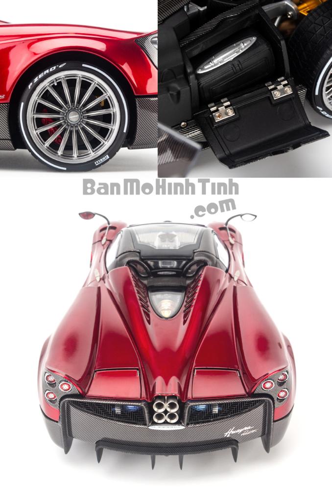 Mô hình xe Pagani Huayra Roadster 1:18 LCD Red