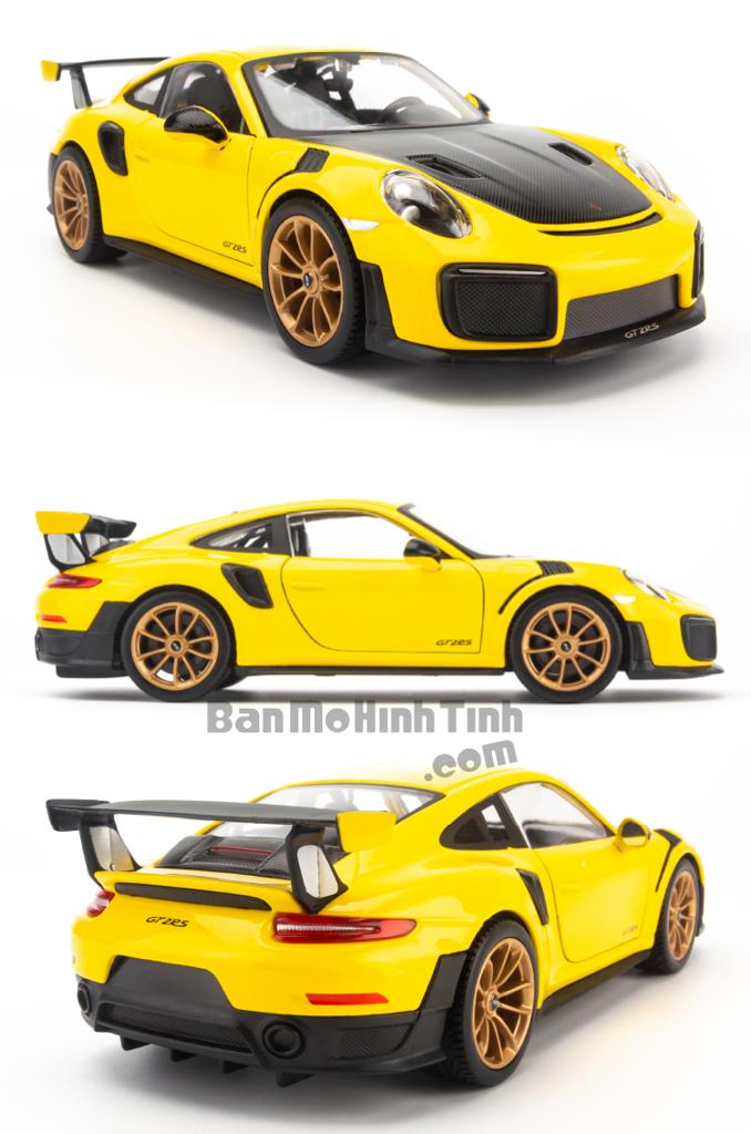 Mô hình xe Porsche 911 GT2 RS 1:24 Maisto Yellow