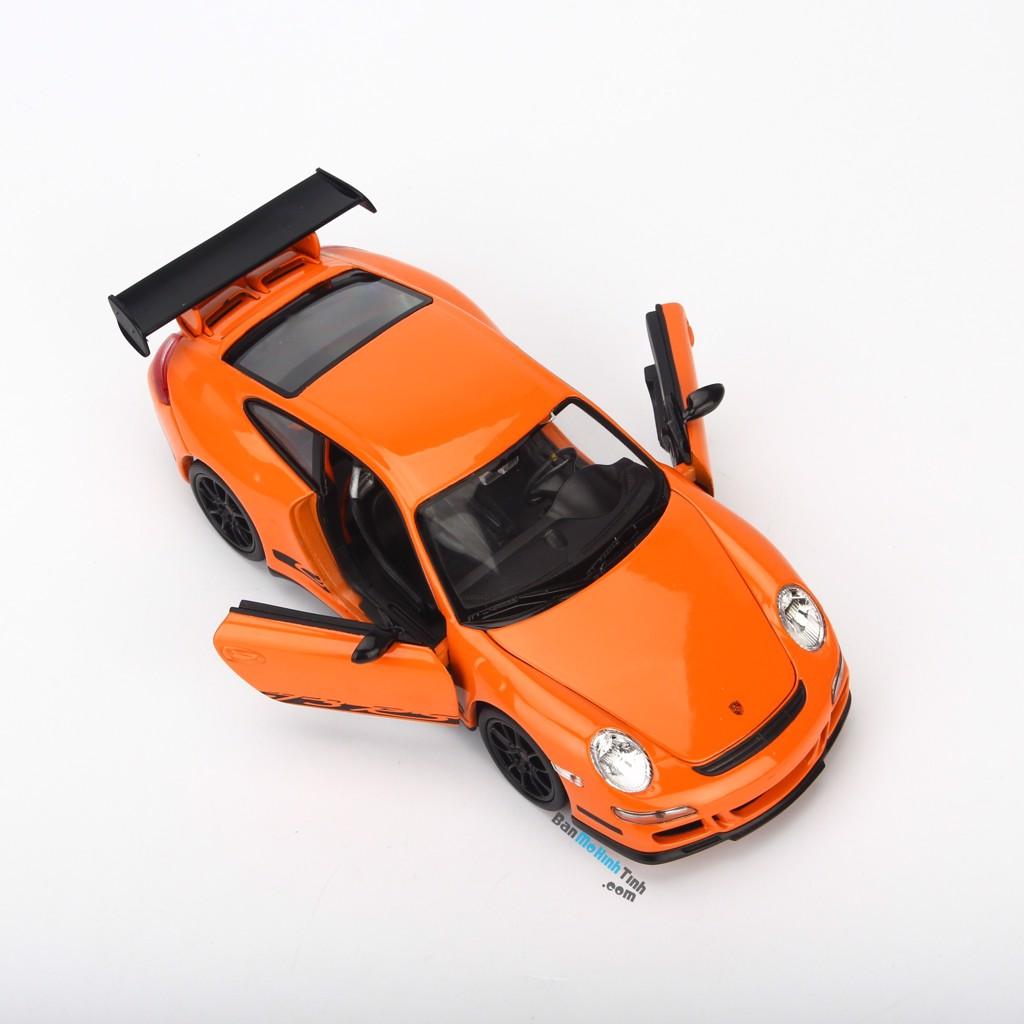 Mô hình siêu xe Porsche 911 GT3 RS-997 2013 1:24 Welly Orange