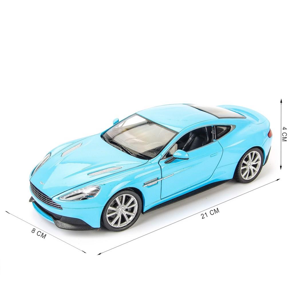 Mô hình xe Aston Martin Vanquish 1:24 Welly