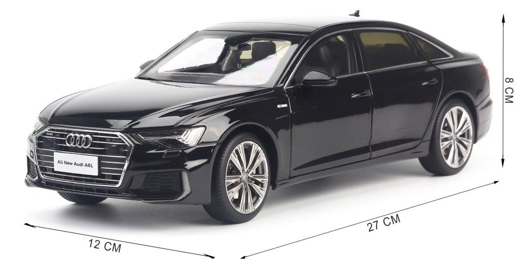 Mô hình xe Audi A6L 2019 1:18 Dealer