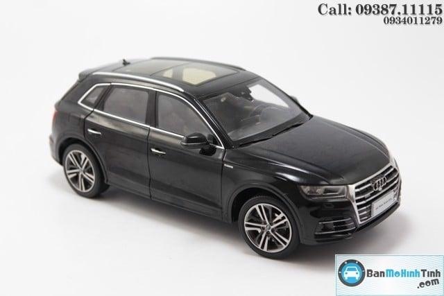 Mô hình xe Audi Q5L 2017 Black 1:18 Dealer