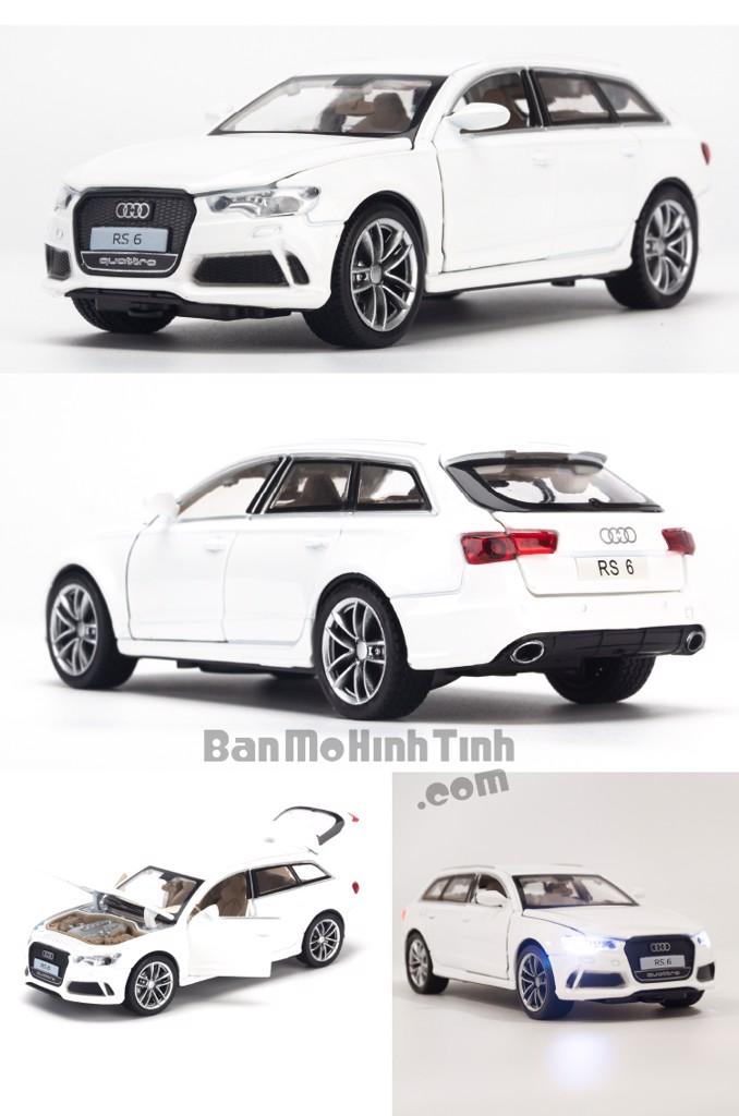 Mô hình xe Audi RS6 1:32 Doublehorses White