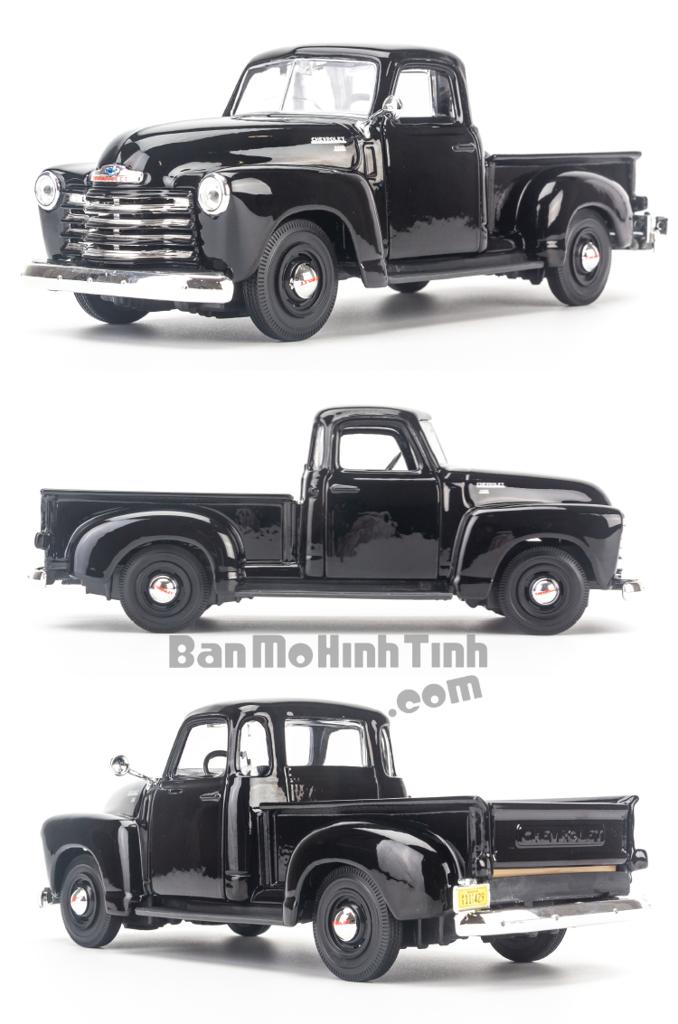 Mô hình xe Chevrolet 3100 Pickup 1950 1:25 Maisto Black