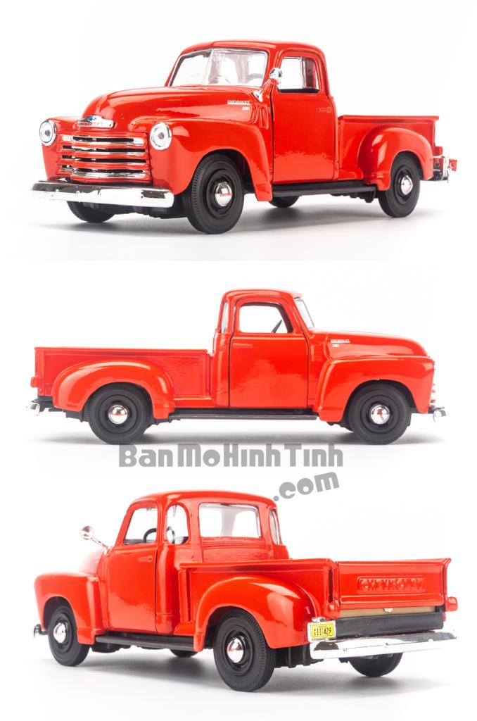 Mô hình xe Chevrolet 3100 Pickup 1950 1:25 Maisto Red