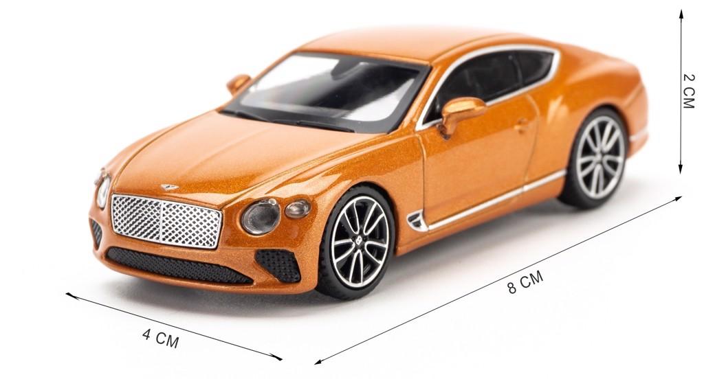 Mô hình xe Bentley Continental GT 1:64 MiniGT
