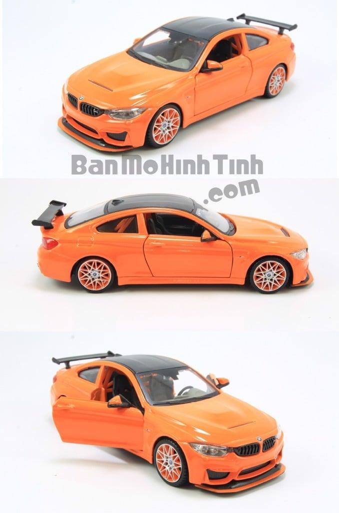 Mô hình xe BMW M4 GTS Orange 1:24 Maisto