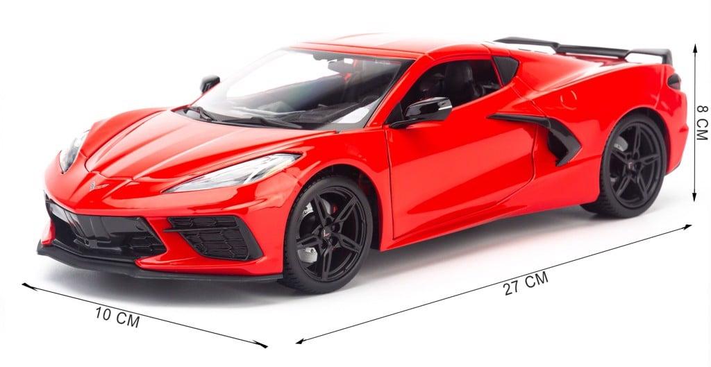 Mô hình xe Chervolet Corvette Stingray Coupe 2020 1:18 Maisto