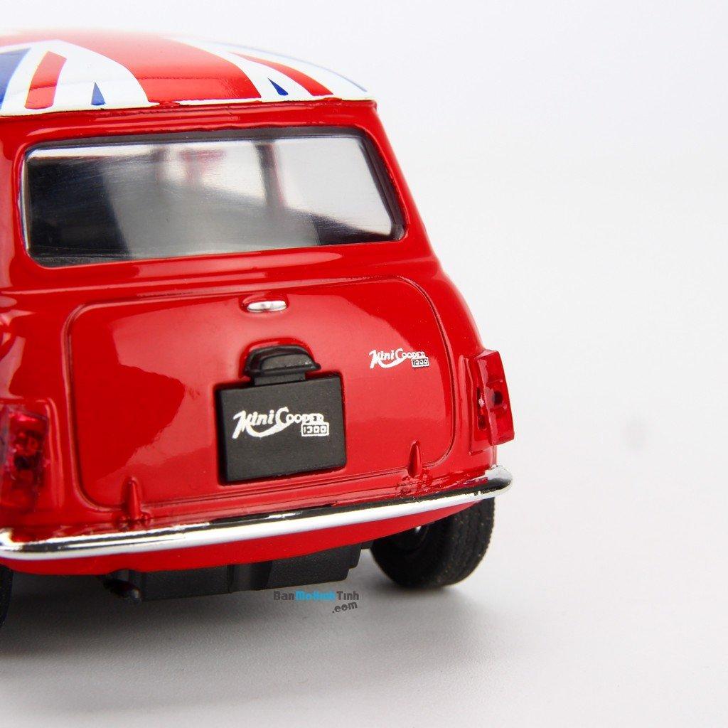 Mô hình xe Mini Cooper 1300 British Version 1:36 Welly