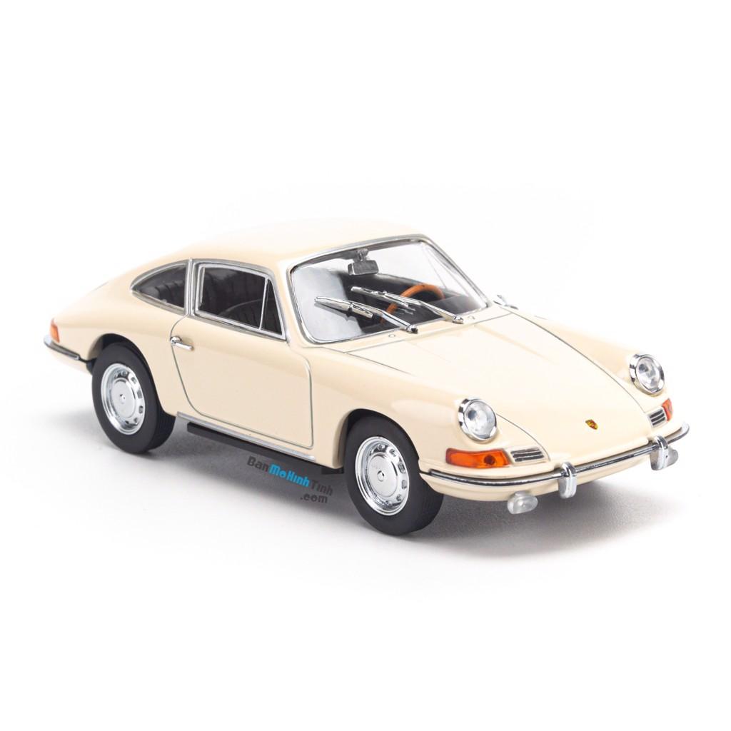 Mô hình xe Porsche 911 1964 1:43 Dealer Cream