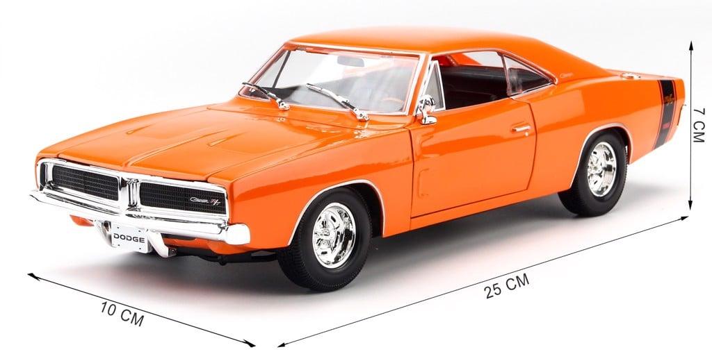 Mô hình xe Dodge Charger R/T 1969 1:18 Maisto