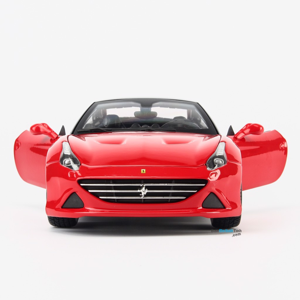 Mô hình xe Ferrari California T - Closed Top 1:18 Bburago Red