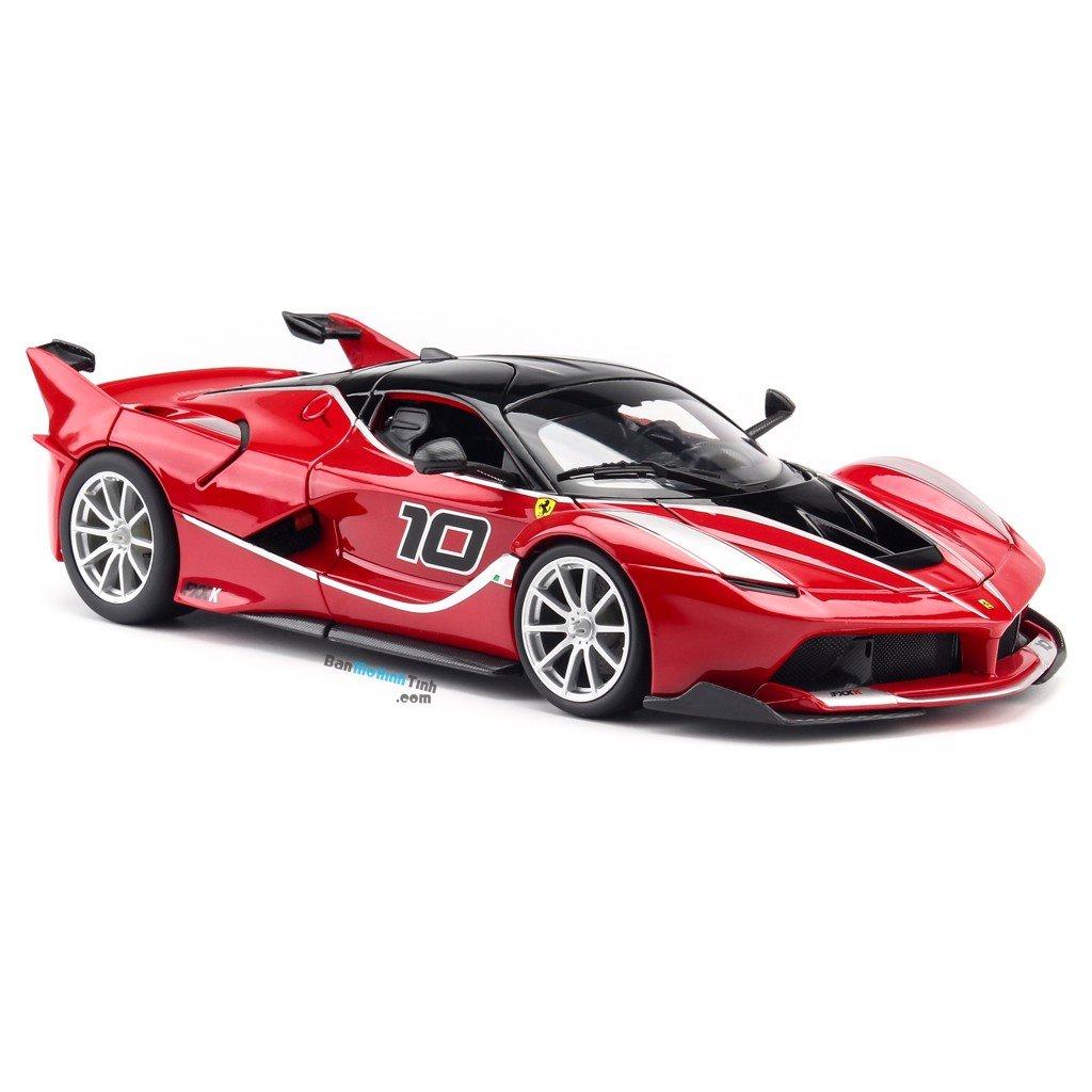Mô hình xe Ferrari FXX K Red 1:18 Bburago