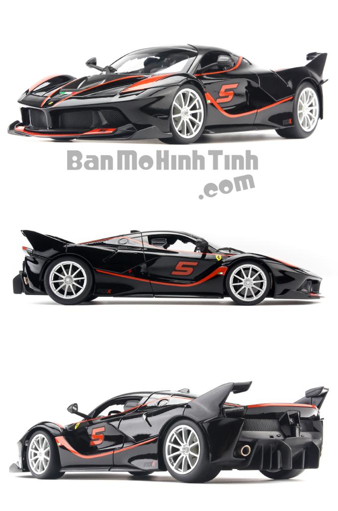 Mô hình xe Ferrari FXX K Black 1:18 Bburago
