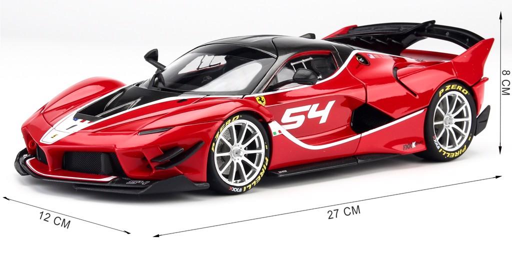 Mô hình xe Ferrari FXX K EVO 1:18 Bburago Signature