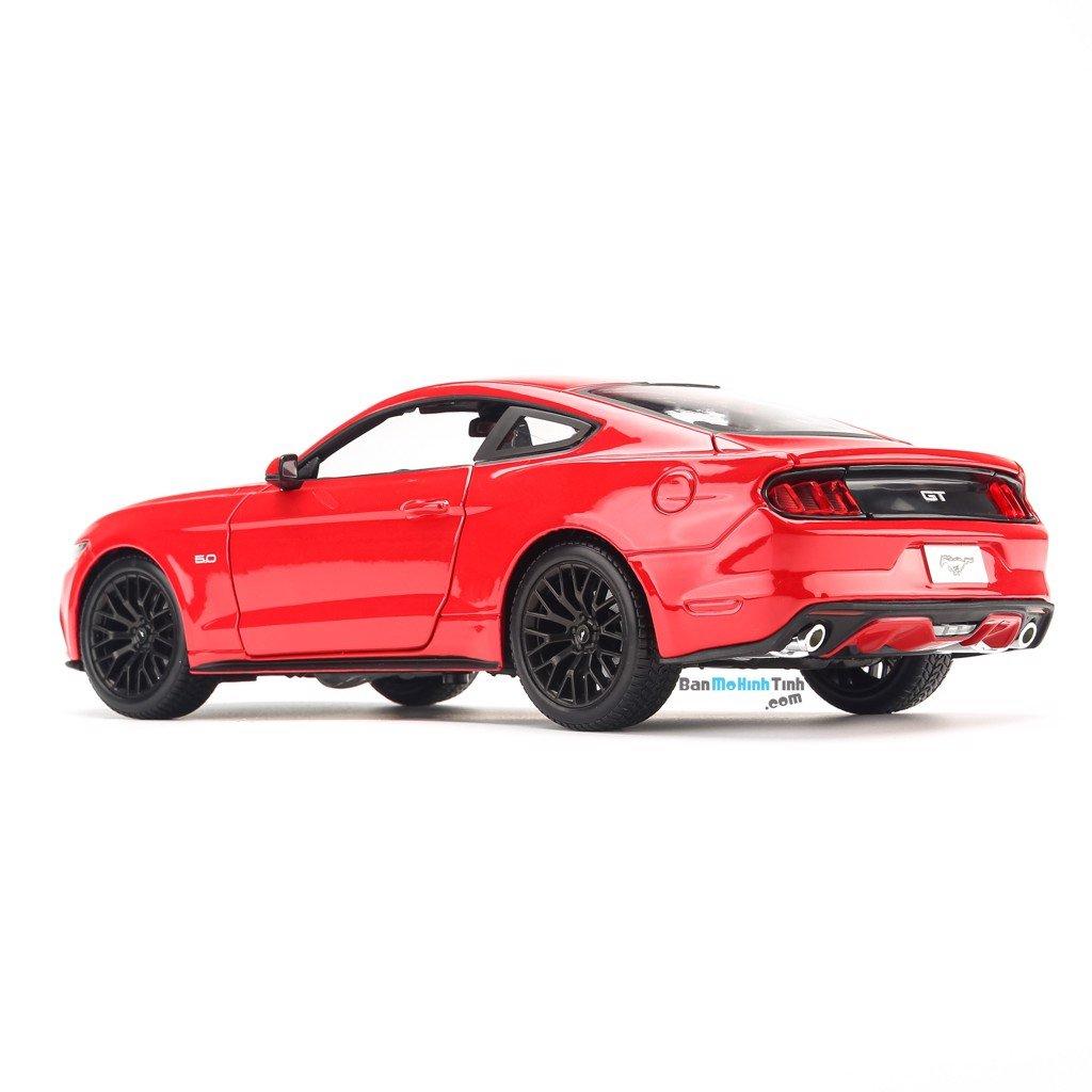 Mô hình xe Ford Mustang 2015 GT Red 1:18 Maisto