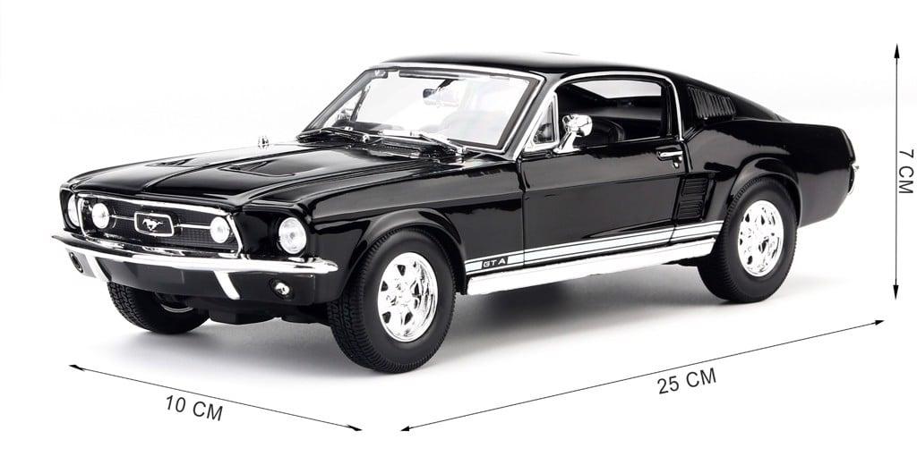 Mô hình xe Ford Mustang GTA Fastback 1967- 1:18 Maisto