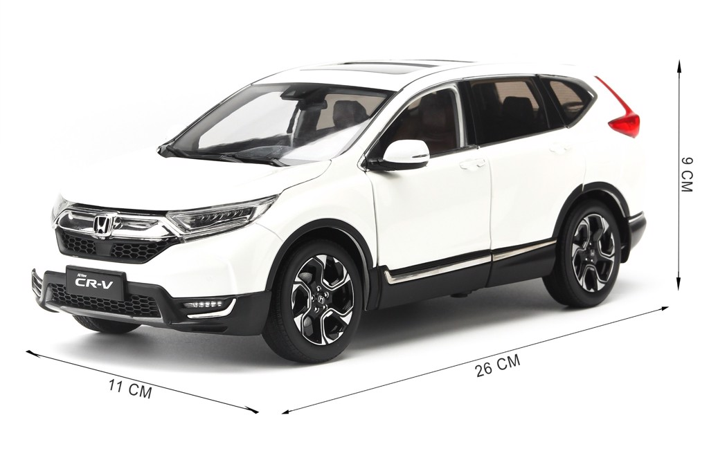Mô hình xe Honda CR-V All New 2018 1:18 Paudi