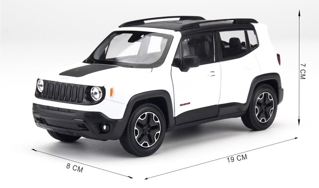Mô hình xe Jeep Renegade Trailhawk 1:24 Welly