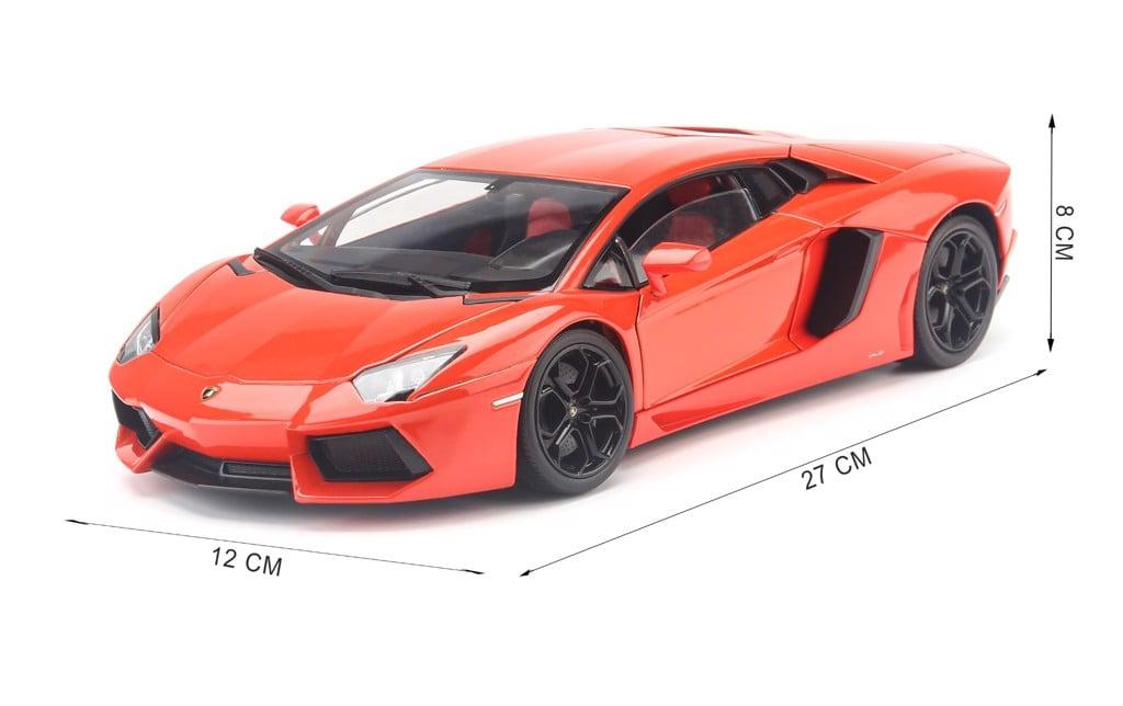 Mô hình xe Lamborghini Aventador LP700-4 1:18 Welly-FX