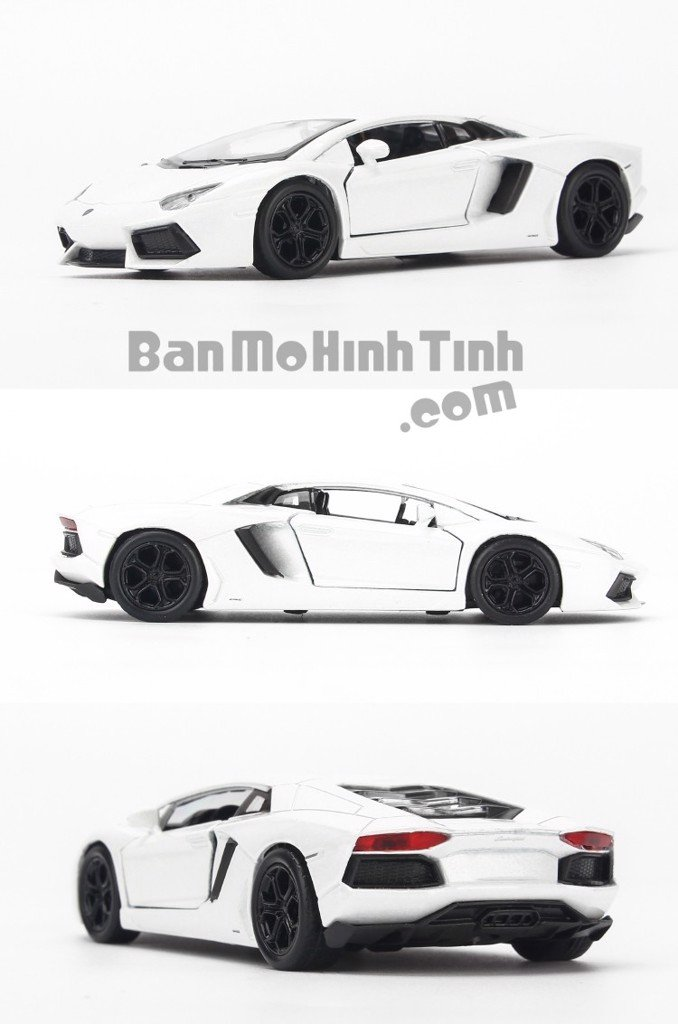 Mô hình xe Lamborghini Aventador LP700-4 White 1:36 Welly