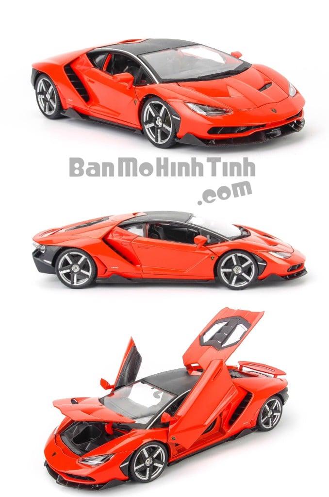 Mô hình xe Lamborghini Centenario LP770-4 Red 1:18 Maisto