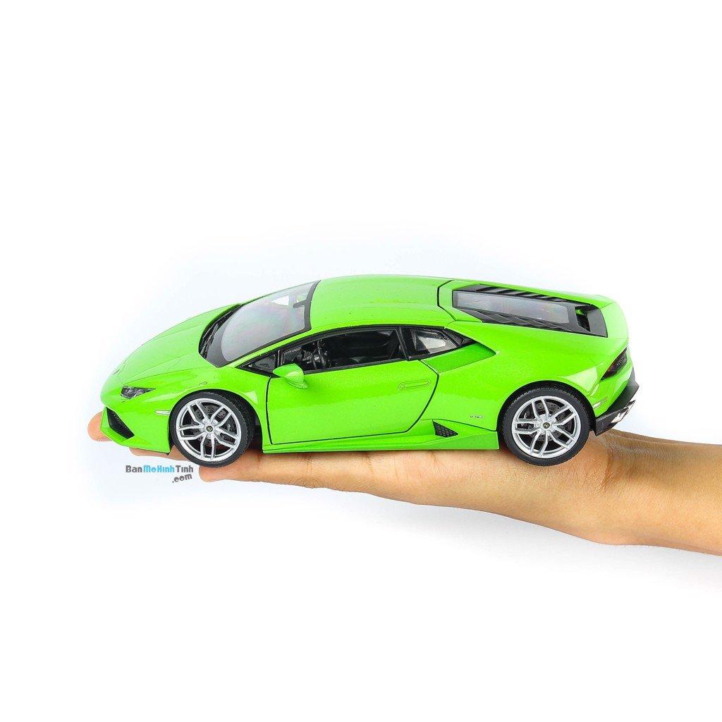 Mô hình xe Lamborghini Huracan LP610-4 Green 1:24 Welly