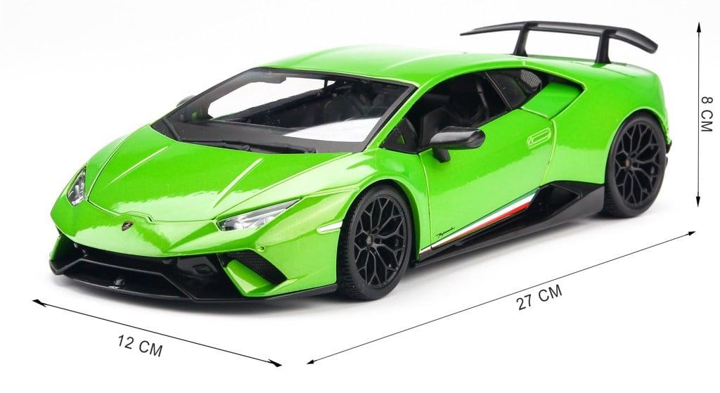 Mô hình xe Lamborghini Huracan Performante 1:18 Maisto Green