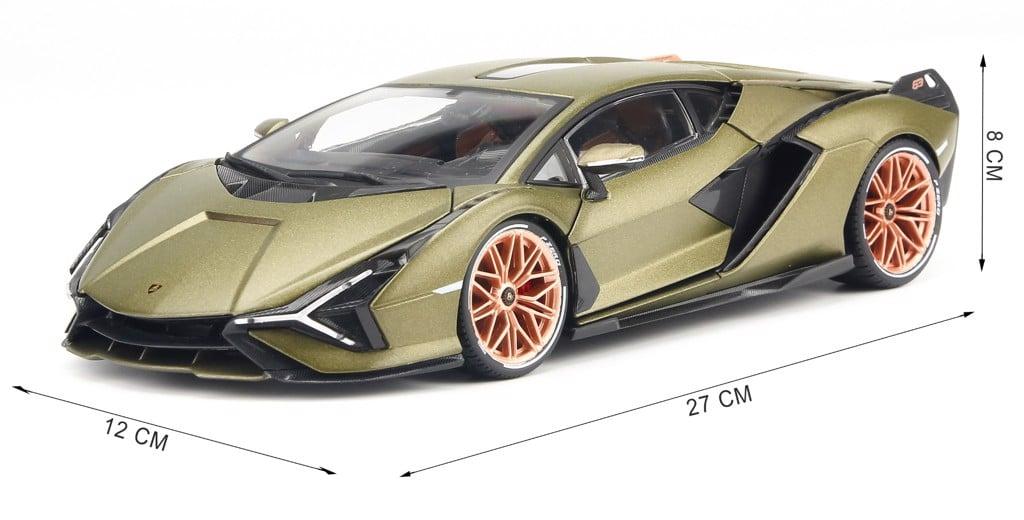 Mô hình xe Lamborghini Sián FKP 37 1:18 Bburago