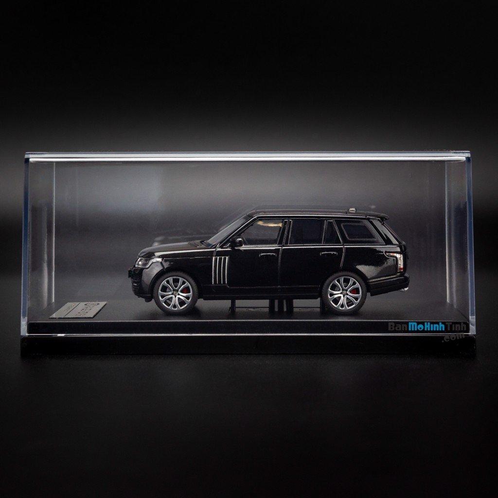 Mô hình xe suv Land Rover Range Rover Autobiography SV 1:64 LCD Black