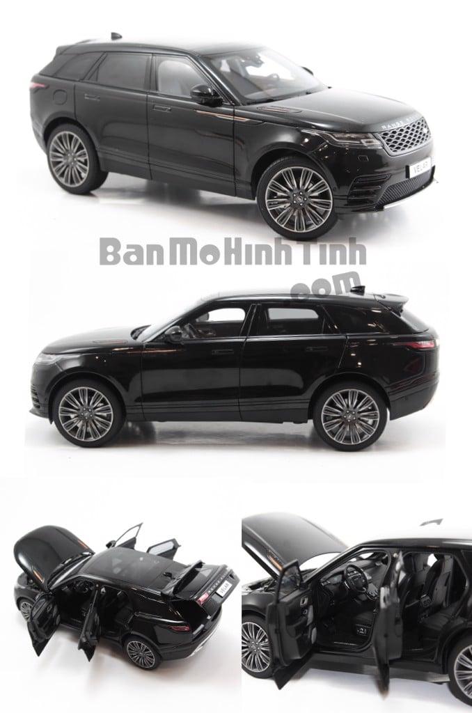 Mô hình xe Land Rover Range Rover Velar Black 1:18 LCD
