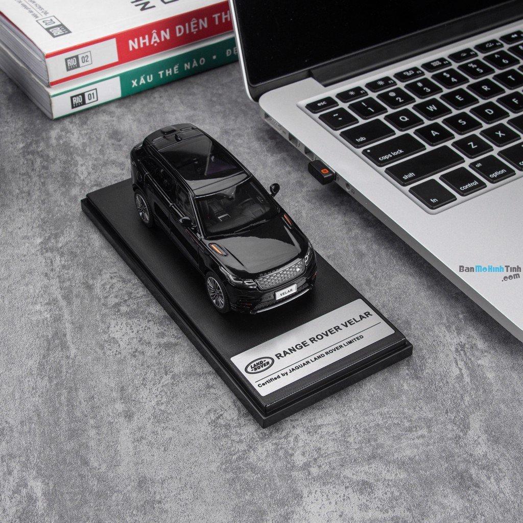 Mô hình xe sang Land Rover Range Rover Velar Black 1:43 LCD