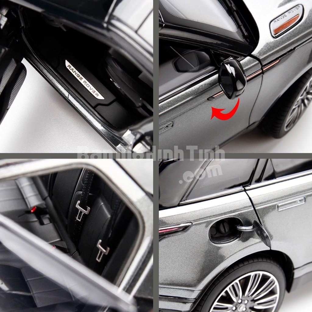 Mô hình xe Land Rover Range Rover Velar Grey 1:18 LCD