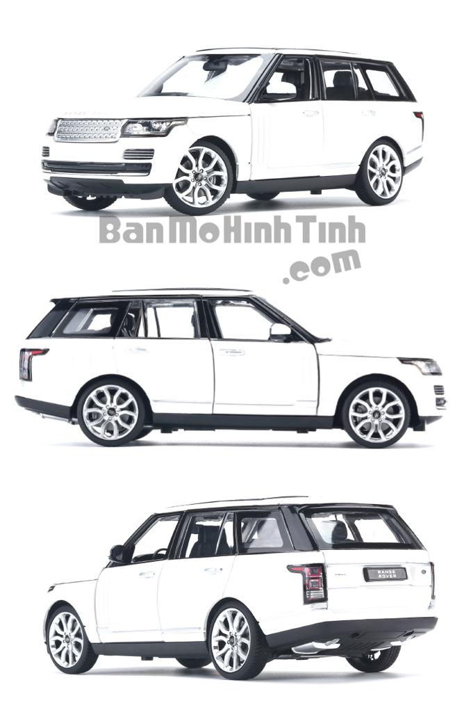 Mô hình xe Land Rover Range Rover White 1:24 Rastar