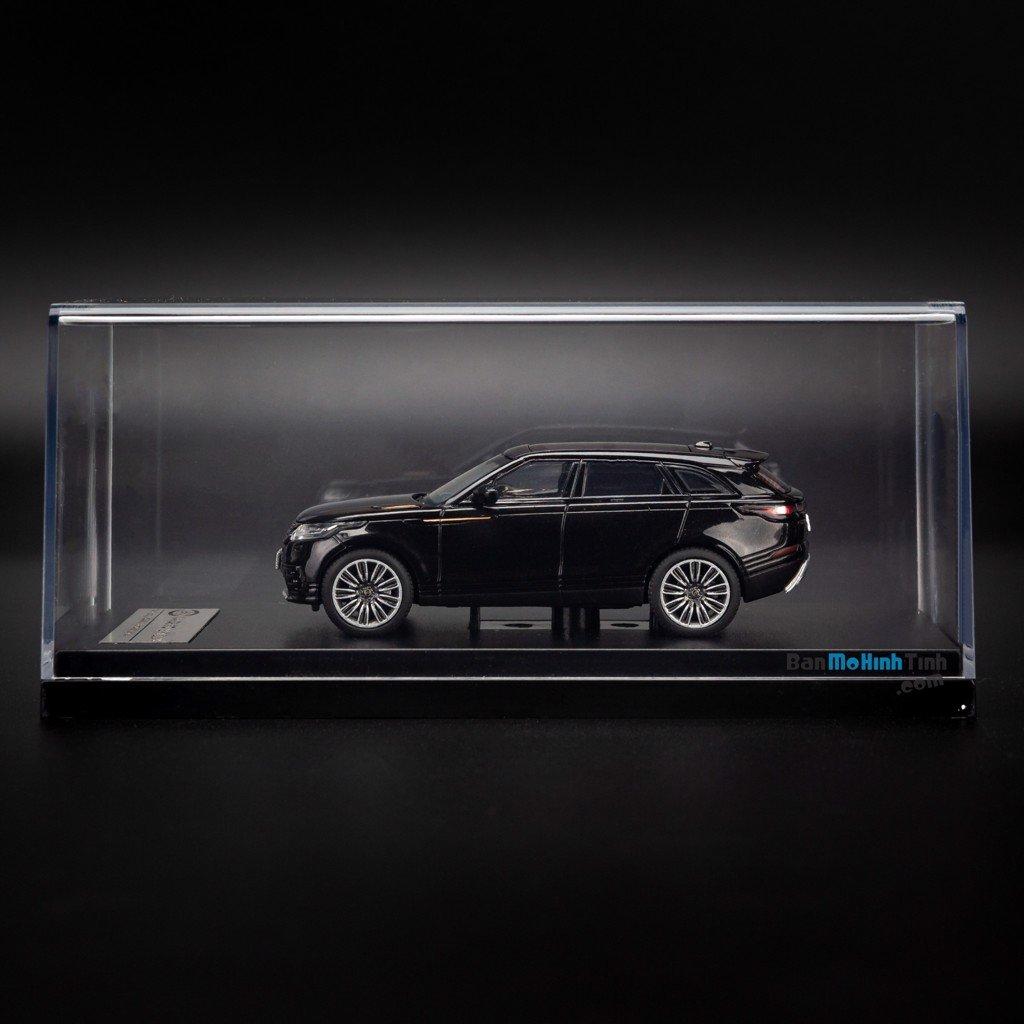 Mô hình xe suv Land Rover Velar 1:64 LCD Black