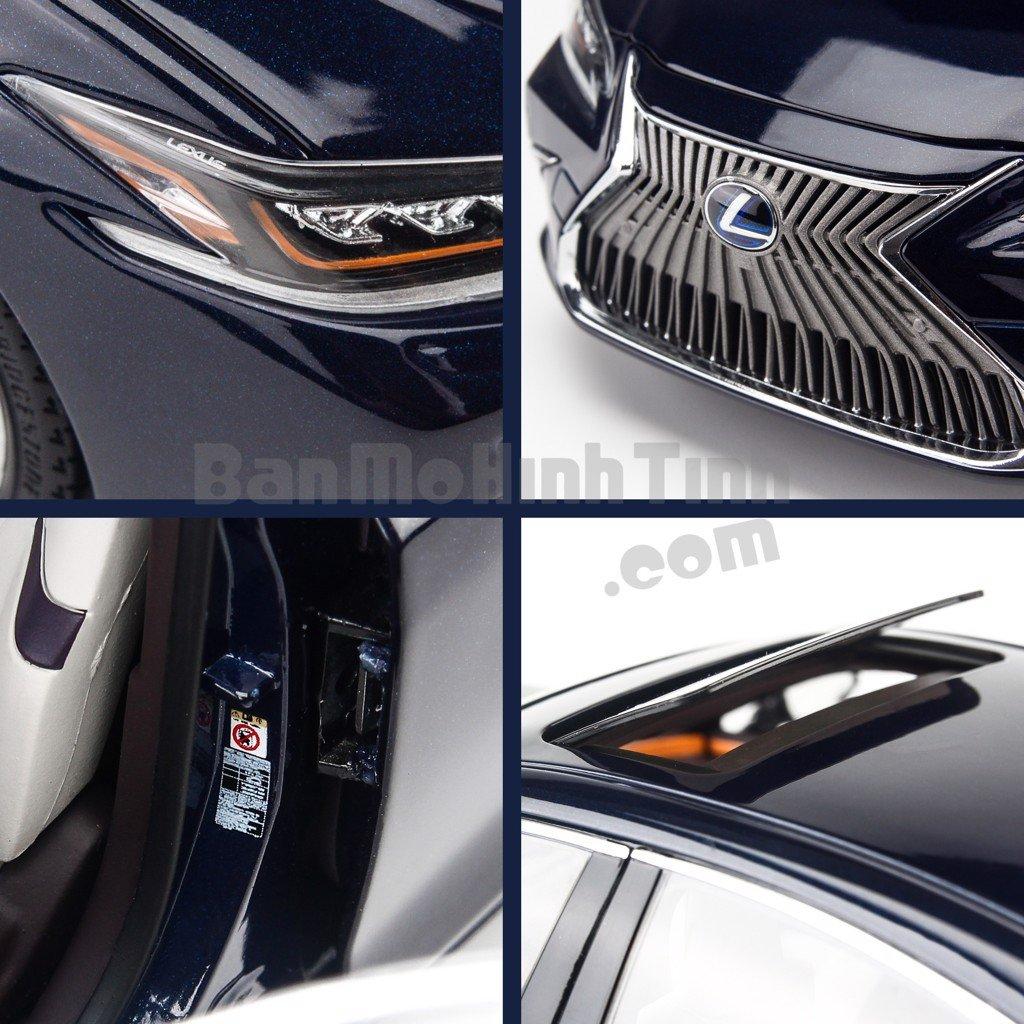 Mô hình xe sang Lexus ES300h 1:18 Dealer