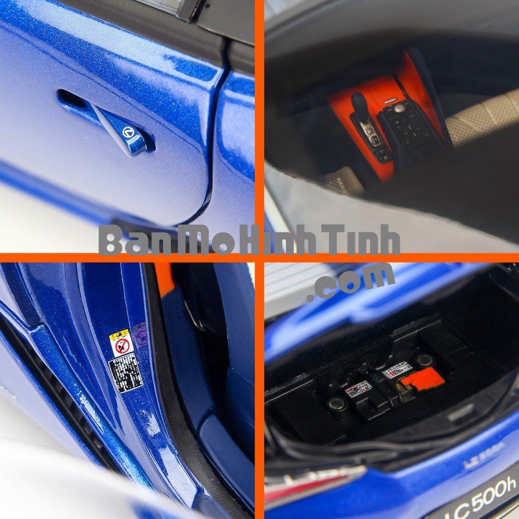 Mô hình xe siêu sang Lexus LC500h Blue 1:18 Dealer giá tốt nhất việt nam