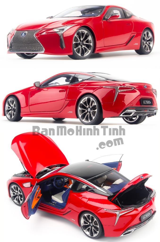 Mô hình xe siêu sang Lexus LC500h 1:18 Dealer giá tốt nhất việt nam