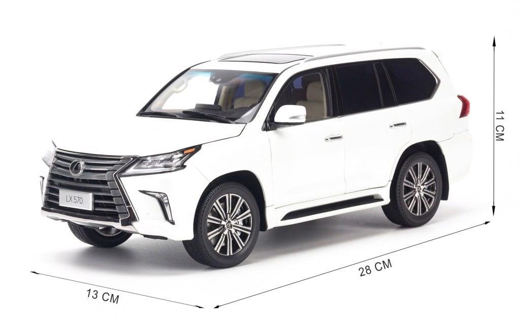 Mô hình xe Lexus LX570 1:18 Kyosho