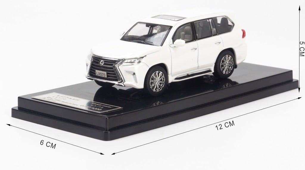 Mô hình xe Lexus LX570 1:64 Hikasi Limited Edition