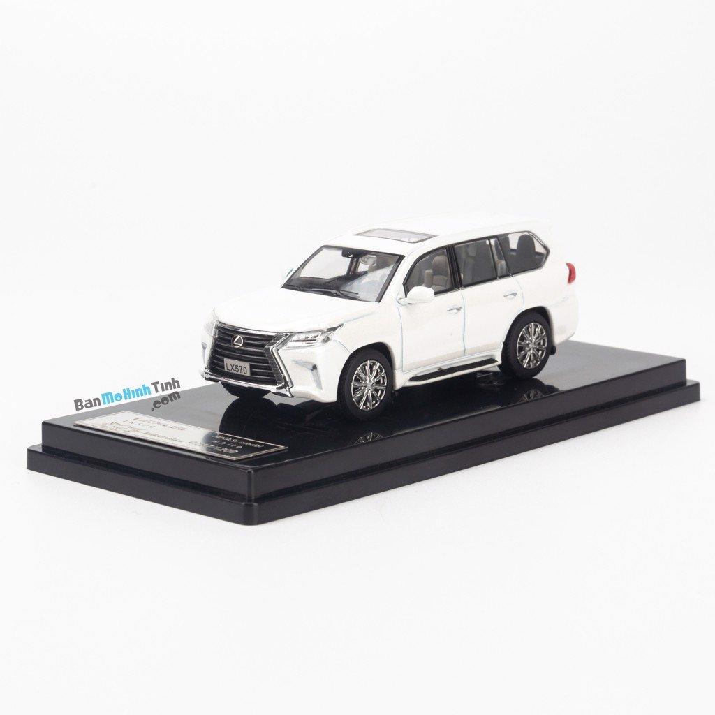 Mô hình xe Lexus LX570 1:64 Hikasi giá rẻ