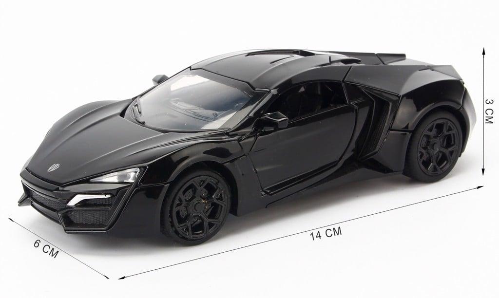 Mô hình xe Lykan Hypersport Fast And Furious 1:32 Miniauto