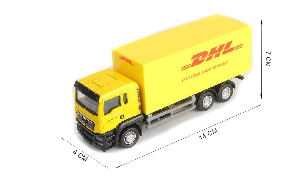 Mô hình xe Man DHL Truck 1:64 UNI